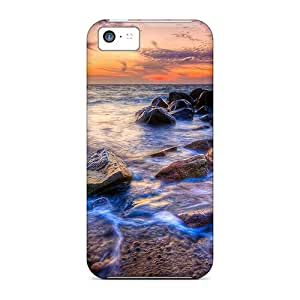 Shock-dirt Proof The Viewer Case Cover For Iphone 5c