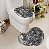also easy 2 Piece Toilet Cover set thai pattern in Bathroom Accessories