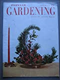 img - for 1952 Vintage Gardening Magazine Popular Gardening December book / textbook / text book