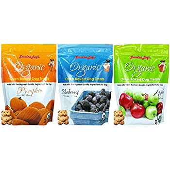 Amazon.com : Organic Baked Dog Treats - Pumpkin - 14oz