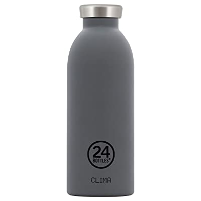 24bottles Clima Bottle Formal Grey Bouteille isotherme Gourde 500 ml Gris