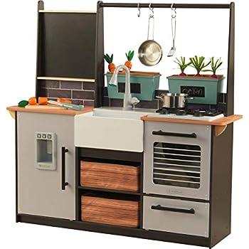 Amazon Com Kidkraft Vintage Kitchen White Toys Amp Games