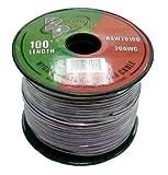 Pyramid RSW20100 20 Gauge 100 Feet Spool of High Quality Speaker Zip Wire