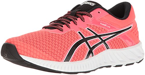 ASICS Women's FuzeX Lyte 2 Running Shoe, Diva Pink/Black/White, 5 M US