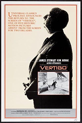 Vertigo (1958) Original Movie Poster at Amazon's Entertainment ...