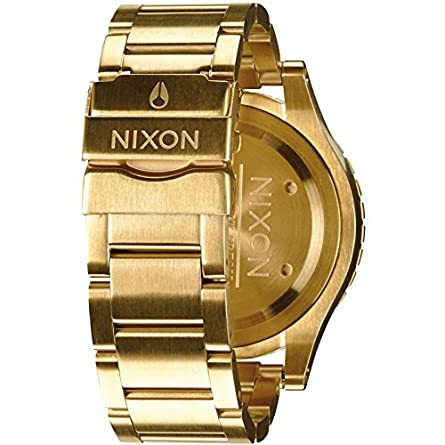 NIXON A486-1502 Mens The 48-20 Chrono All Gold Watch