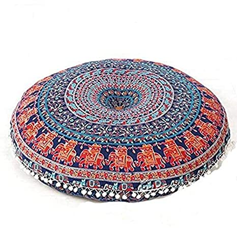 Amazon.com: Mega Craft Almohada sentado suelo sentado cojín ...