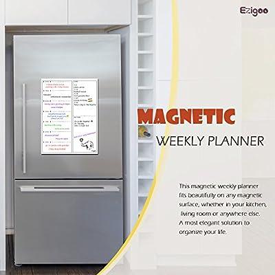 Calendario Magnético para Nevera -Planificador de Menú ...