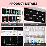 OUTDOOR DOIT Jewelry Cabinet Jewelry armoire with