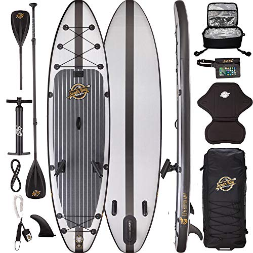 Premium Inflatable Stand Up Paddle Board Package - 11'6 Hippocamp Fishing -