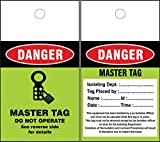 LOTO MASTER Tags (Set of 50 pcs)