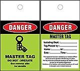 LOTO MASTER Tags (Set of 50 pcs)
