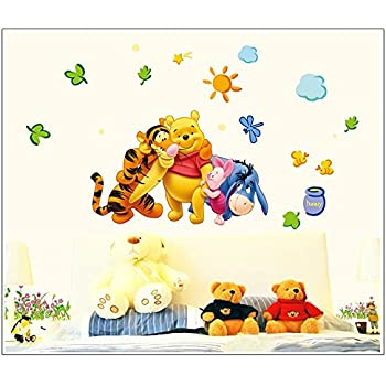 Gadfly  The Honey Pot Sun Winnie The Pooh And Winnie The Pooh Peel U0026 Stick
