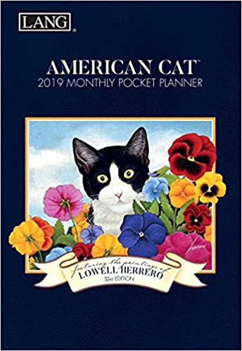 american cat 2019 monthly pocket planner