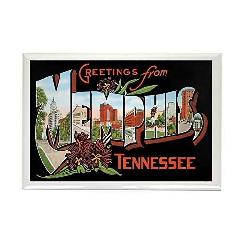 CafePress - Memphis TN Rectangle Magnet - Rectangle Magnet, 2