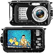 Underwater Camera Waterproof Digital Camera Full HD 1080P 30 MP Video Recording 2.7 inch Screen 16X Digital Zo