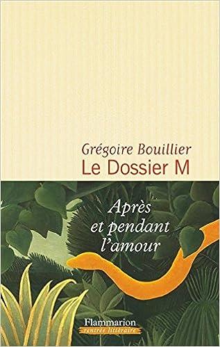Le Dossier M : livre1