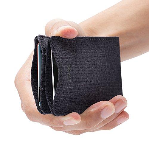 Slim Mens Wallets for Men - RFID Blocking Card Holder - Premium Minimalist Wallet