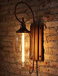 689de625d7a6f MEIREN Vintage Loft Adjustable Industrial Metal Wall Light Country Style  Sconce Lamp Fixtures