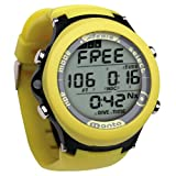 New AERIS Manta Sports Watch & Personal Nitrox Scuba Diving Computer with FREE DiveNav Online Training (Yellow)