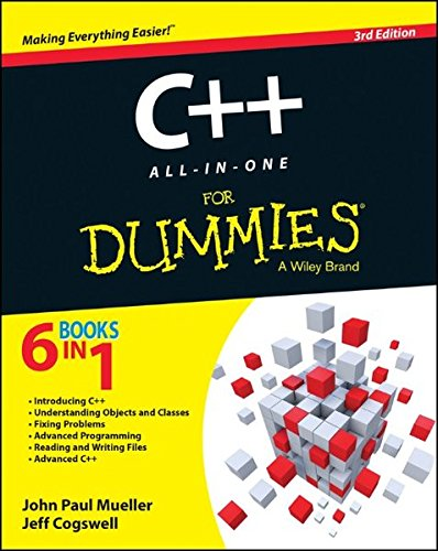 C++ All-in-One For Dummies ISBN-13 9781118823781