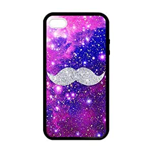 Glamour Space Mustache Case for iPhone 5 5s case by supermalls