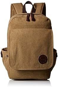 Zebella Vintage Canvas Backpack for Laptop School Rucksack Weekender Daypack Bag