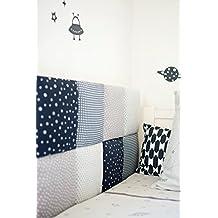 KIDS ROOM HEADBOARD/WALLBOARD-DECORATIVE WALL CUSHIONS-Customize it!-Choose fabric designs & coverage area