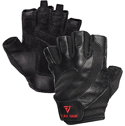 FlexOne Fitness Premium Gloves with Pull Tabs for Gym Exercises, Crossfit, Weight Training or Cycling to Provide Protection and Comfort for Your Hands – DiZiSports Store