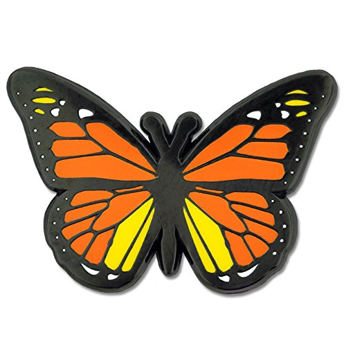 PinMart Monarch Butterfly Vibrant Insect Enamel Spring Brooch Lapel Pin