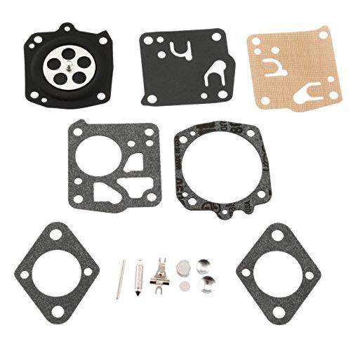Aupoko Carburtor Carb Kit For Tillotson Homelite XL-12 Super XL RK-23HS, RK23HS, RK-23-HS