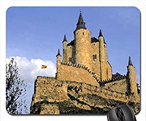 ANOTHER CASTLE Mouse Pad, Mousepad (Medieval Mouse Pad, 10.2 x 8.3 x 0.12 inches)