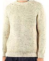 (ケリーウーレンミルズ)Kerry Woollen Mills Fisherman Rib Crew Neck Sweater kwm-006