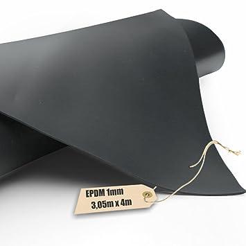 Firestone EPDM Kautschuk Teichfolie Pondgard 1mm In 305m X 4m