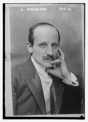 HistoricalFindings Photo: Adolfo Muller-Ury,1862-1947,American portrait painter,impressionistic painter