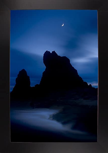 Frame USA Lunda En Ruby Beach Color Framed Print 300quotx200quot By