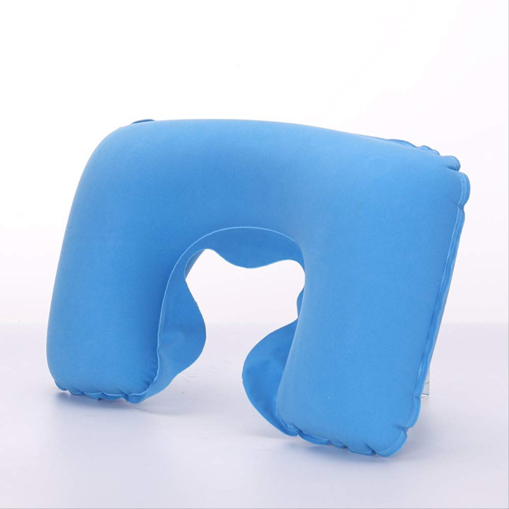 WZ YDTH Headrest Soft U-Shaped Cushion Air Cushion Inflatable Pillow Car Care Pad Travel Pillow by WZ YDTH