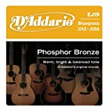 D'Addario EJ19 Phosphor Bronze Acoustic Guitar Strings, Bluegrass, 12-56, Best Gadgets