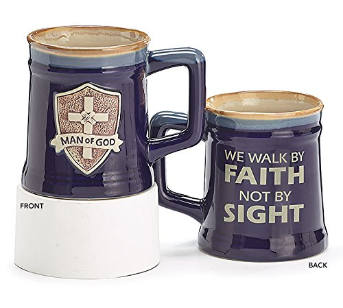 Decorative Walk By Faith Not By Sight Porcelain Coffee Mug