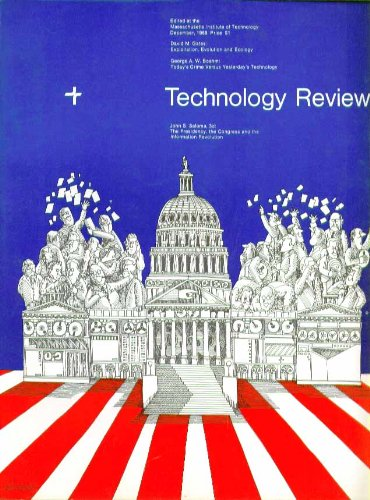 Technology Review Mit Collagen Ecology It Government    12 1968