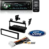 pioneer app head unit - Pioneer CD Receiver with Improved Pioneer ARC App Compatibility, MIXTRAX, Built-in Bluetooth, and Color Customization W/ Mounting Kit-FMK550 for 1995-2011 Ford/Lincoln/Mazda/Mercury