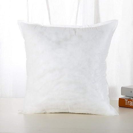 RoadRoma Almohada de algodón PP Cojín con Base Patrón Lindo Relleno de Felpa de Juguete 45X45Cm250G Blanco: Amazon.es: Hogar