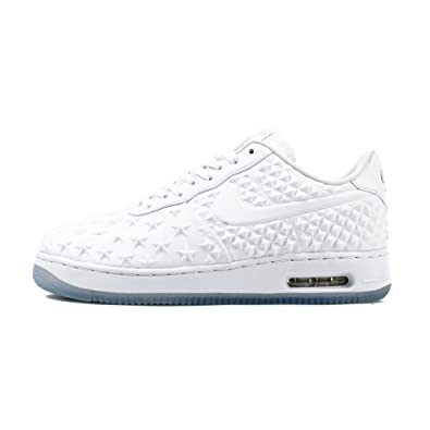 cheap for discount a045a 44b52 Amazon.com  NIKE Mens Air Force 1 Elite AS QS WhiteChrome Synthetic Size  13 Basketball  Fashion Sneakers