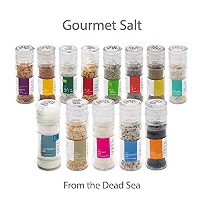 Gourmet Salt Collection From The Dead Sea 3.87oz