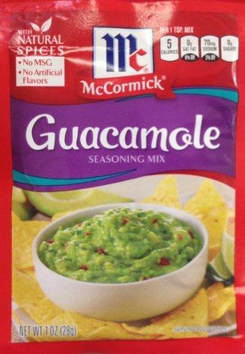 McCormick GUACAMOLE Seasoning Mix 1oz. (9 Packets) by McCormick