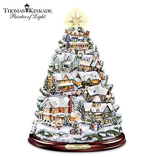 (Thomas Kinkade Christmas Tabletop Tree: Songs Of The Season by The Bradford Exchange)