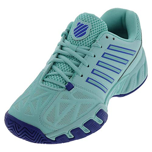 K-Swiss-Women`s Bigshot Light 3 Tennis Shoes Aruba Blue and Dazzling Blue-()