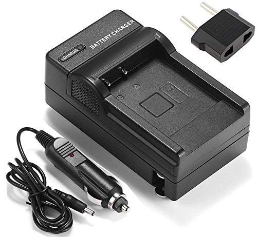 (Battery Charger for Panasonic NV-GS30, NV-GS33, NV-GS35, NV-GS37 Camcorder)