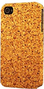 Cork Board Pattern Dimensional Case Fits Apple iPhone 4 or iPhone 4s