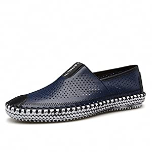 Casual Moccasins Male Shoes Men Loafers Boat Breathable Mesh Drive Soft Walking Man Footwear